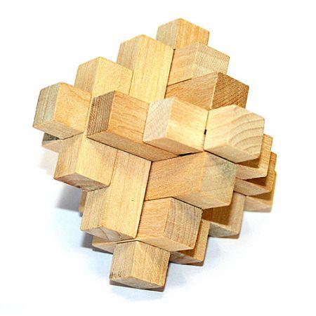 Головоломка деревянная в кор. Солярис