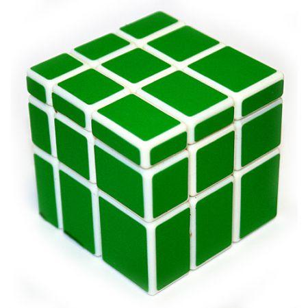 Головоломка Кубик зеленый разные грани
