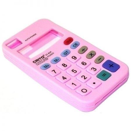 Чехол для телефона Калькулятор розовый