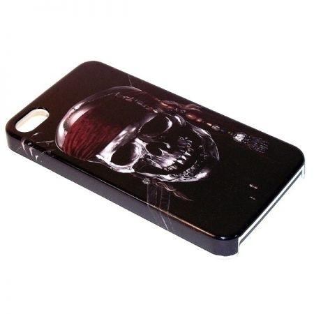 Чехол для телефона Череп пластик