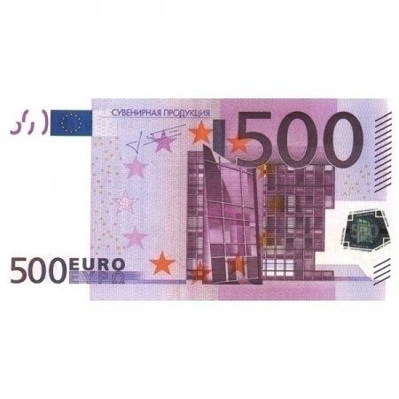 Наклейка 500 евро 20шт в упаковке