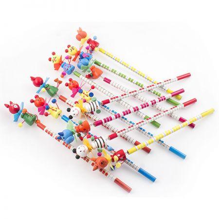 Набор карандашей 2 на пружинке 12 шт в кор.