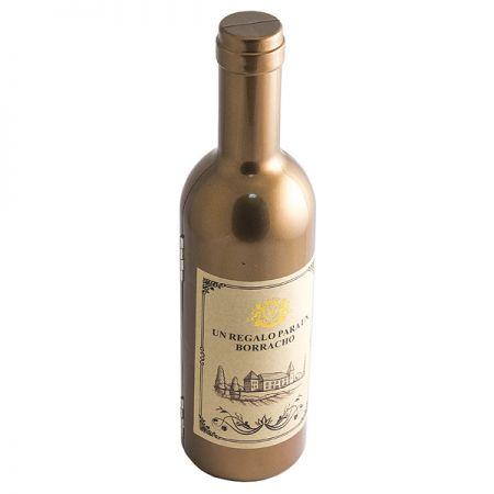 Набор винный бутылка Золотая H=23.5 см
