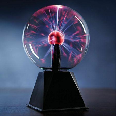 """Светильник """"Плазма шар"""" 20,5 см с подсветкой"""